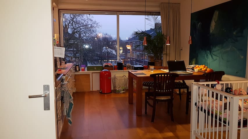 Magnificent Relaxing private,on 3th floor, - Amsterdam - Bed & Breakfast