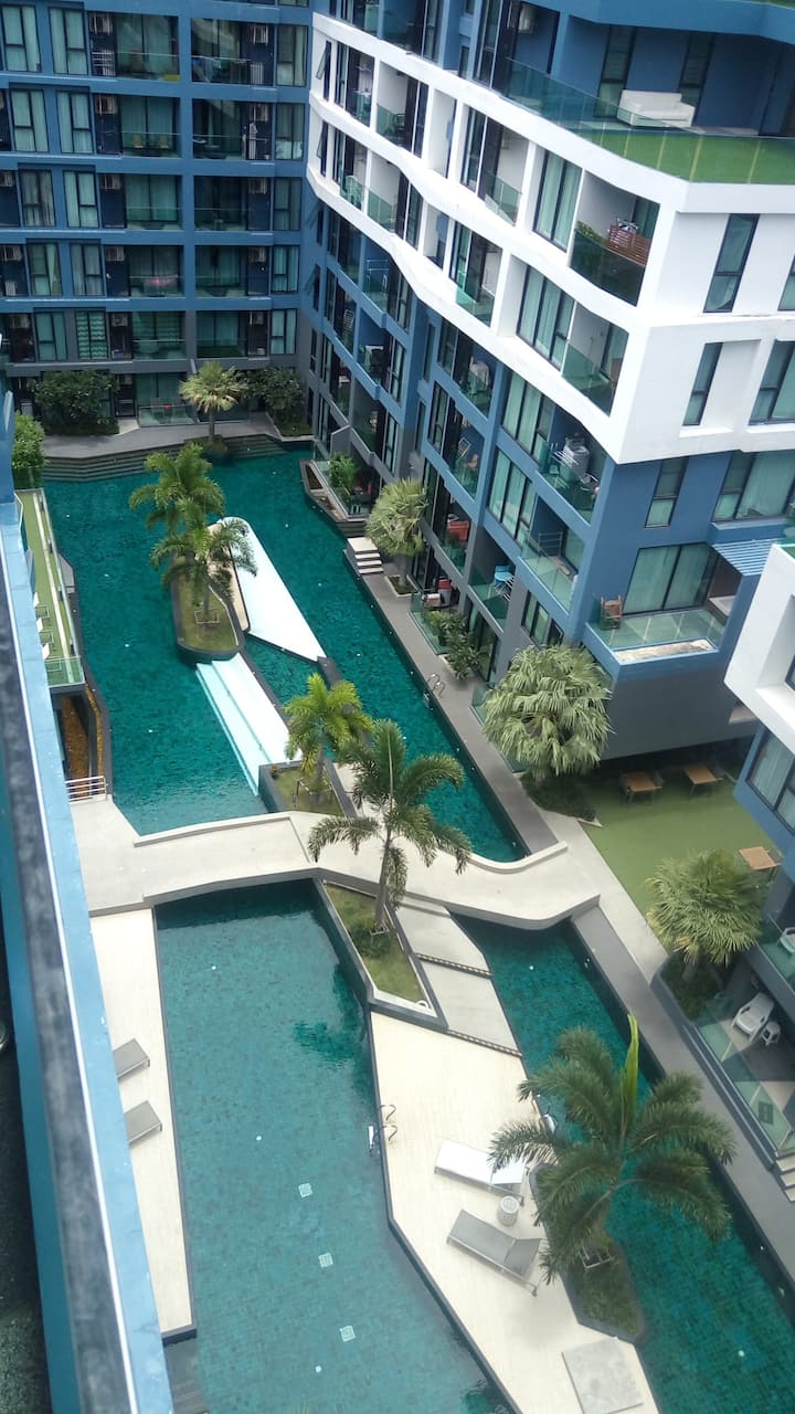 Jomtien beach - Apartment with seaview