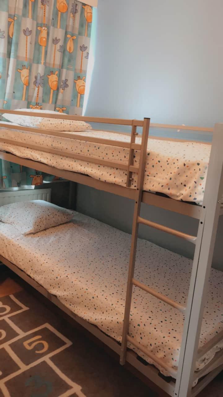 Chambre lit superposé pour 2 personnes