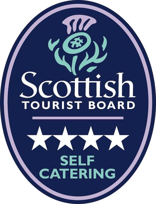 We were recently awarded a 4-star rating by Visit Scotland!