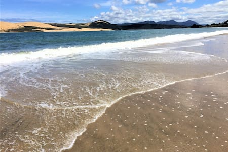 Hokianga Harbour beach apartment