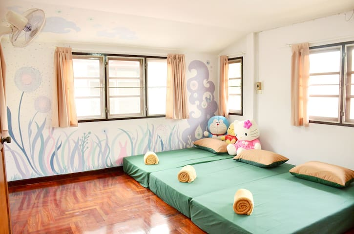 Lunarby~Lullaby Forest~ Aircon Private BKK airport