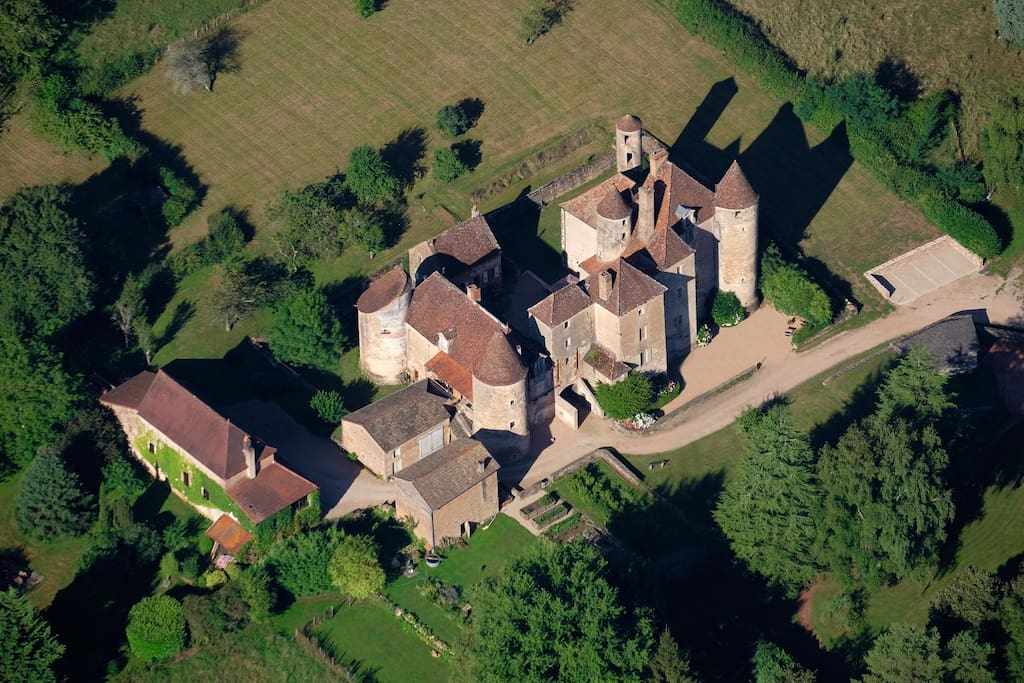 """Le lieu-dit """"Château de Balleure"""""""
