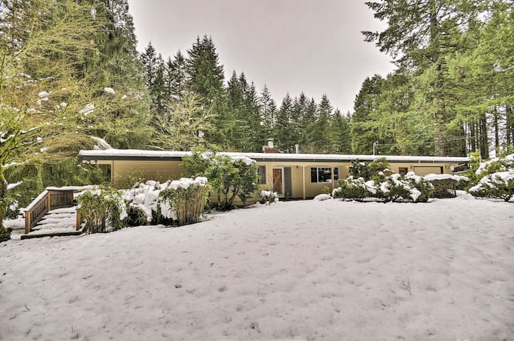 Sandy Family Home - Drive to Portland+Mt Hood