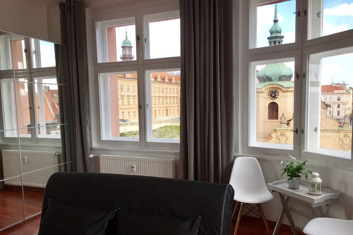 Wake up with a panoramatic view - Praha - Leilighet