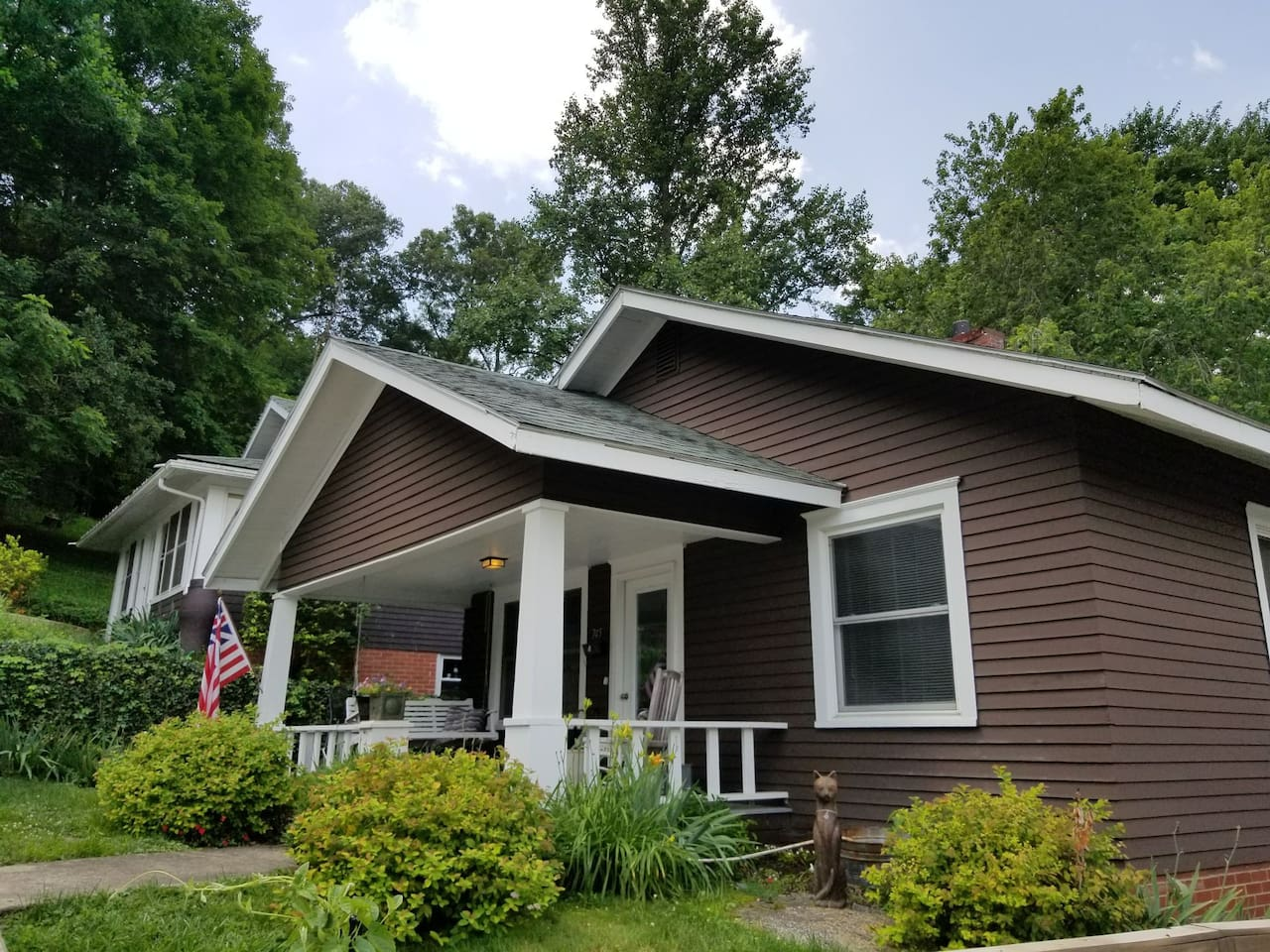 Welcome to our Craftsman Bungalow!