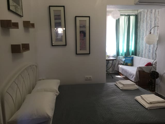 Easy and cozy central studio in Réthymno town