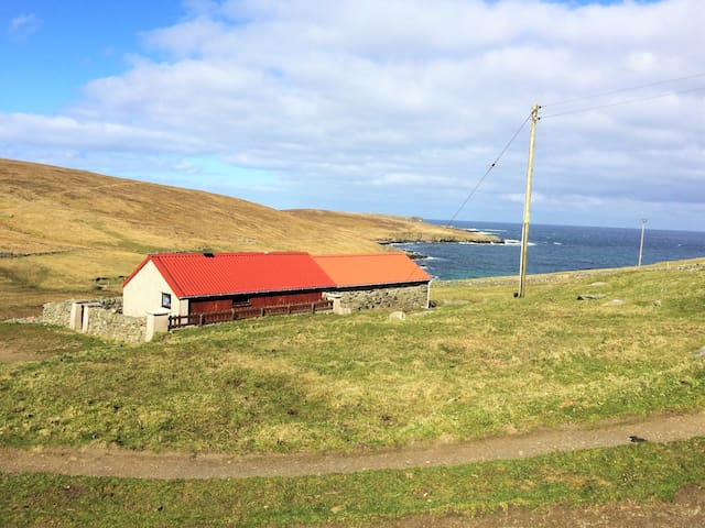 Secluded, romantic cottage 1 dbl bedroom + boxbed - Shetland Islands