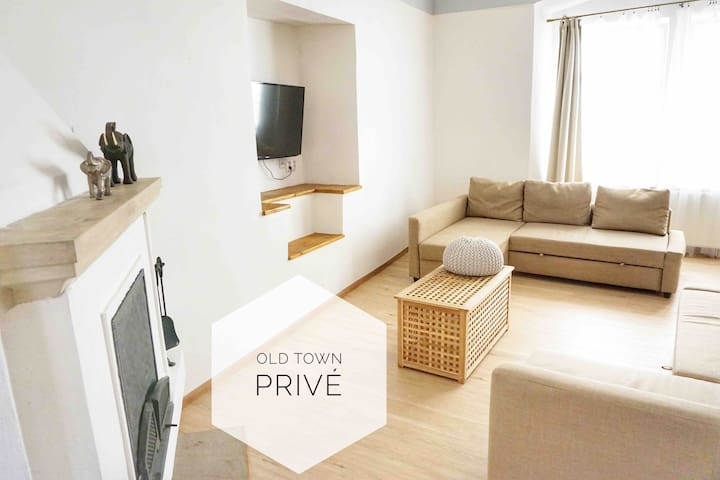 Apartment is situated in the centre of Prague.