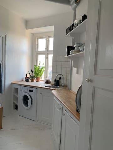 Lejlighed beliggende ved Frederiksberg Have