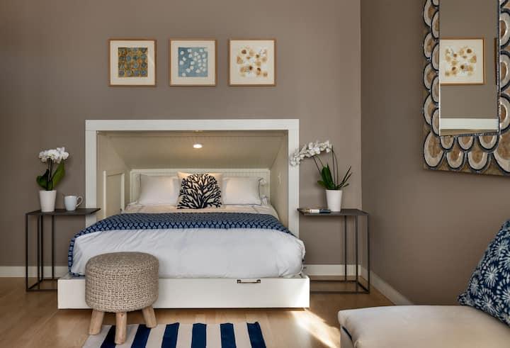Private Modern Loft featured in Maine Home+Design
