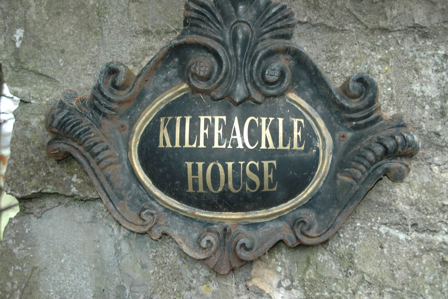 Entrance to Keavy Cottage on grounds of Kilfeacle House