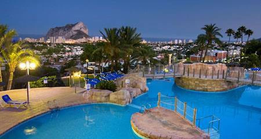 Private 2 bed villa with terrace on 4* resort - Calpe - House