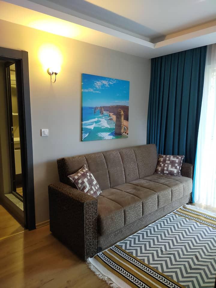 Merkezde Havuzlu 1+1  Lüks  apartments(Smart Tv)