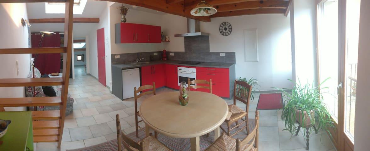Appartement des vignes de l'Adret - Montlaur