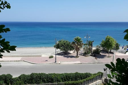 3 room holiday flat with marvellous sea view - Bovalino