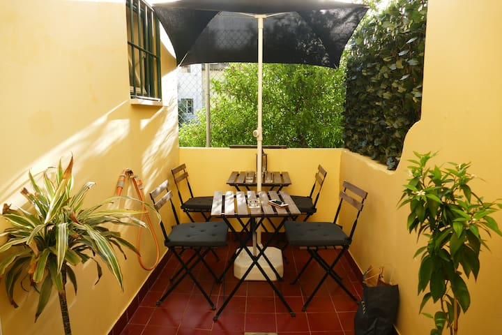 Cozy 1 bdr flat Central, Charm, Wifi with Terrace - Lisboa - Apartamento