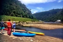 Kayaking/Canooeing - we have our own canooes which our guests can use.
