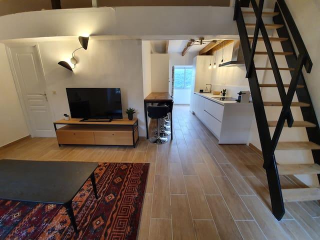 Appartement design vue mer et montagne