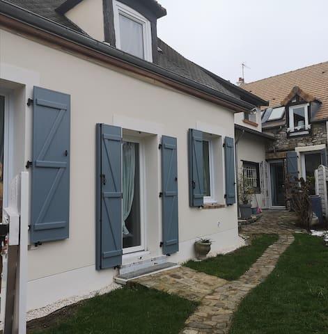 Maison proche de Disney 35mn et de Paris