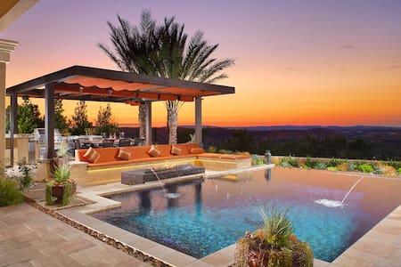 Luxury Mediterranean Mansion - Ladera Ranch - Hus