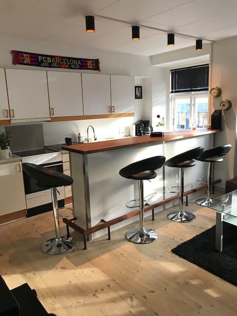 2 værsels lejlighed midt i Horsens Centrum
