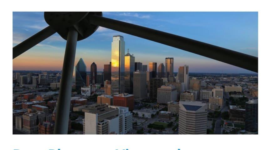 Luxury Downtown Dallas Views 1BD 1 BA