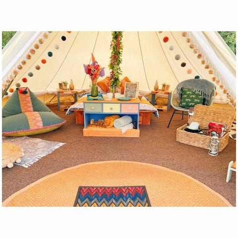Thornbush Glamping - Wisteria Bell tent