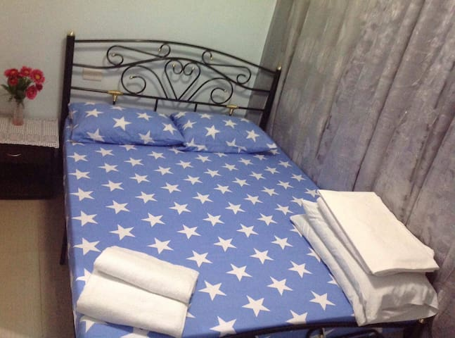 1 Airconditioned Bedroom with Private Balcony