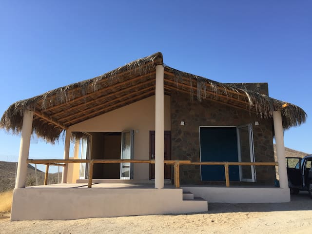 Private bungalow with Ocean view at CERRITOS beach - Todos Santos - Bungalow