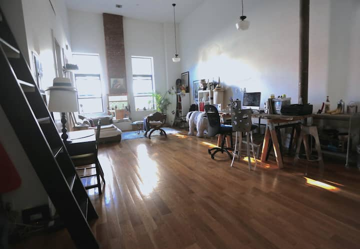 Great Loft space in the Heart of Bushwick
