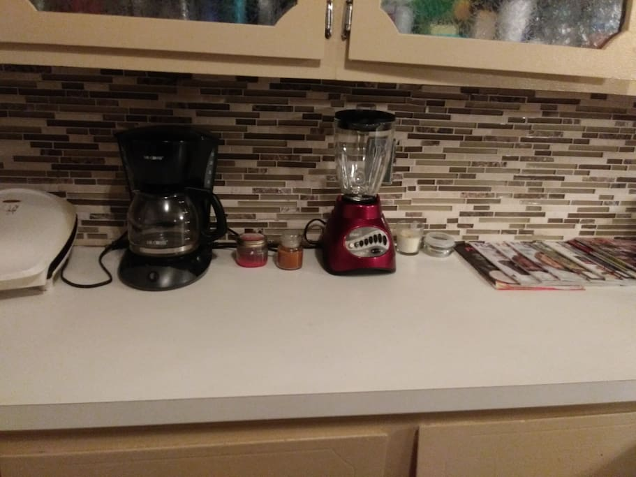 Foreman Grill, Coffee and Blender
