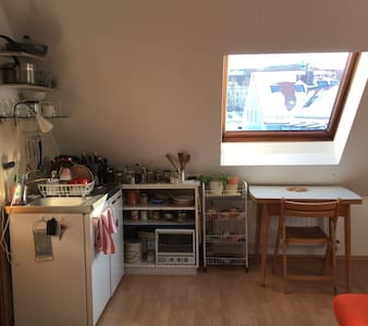 Ruhiges 1 Zimmer Appartment - 프라이징