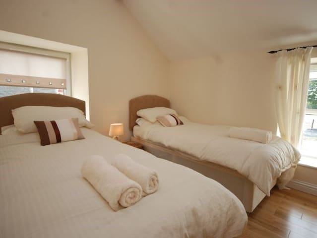 Second bedroom, with en suite facilities