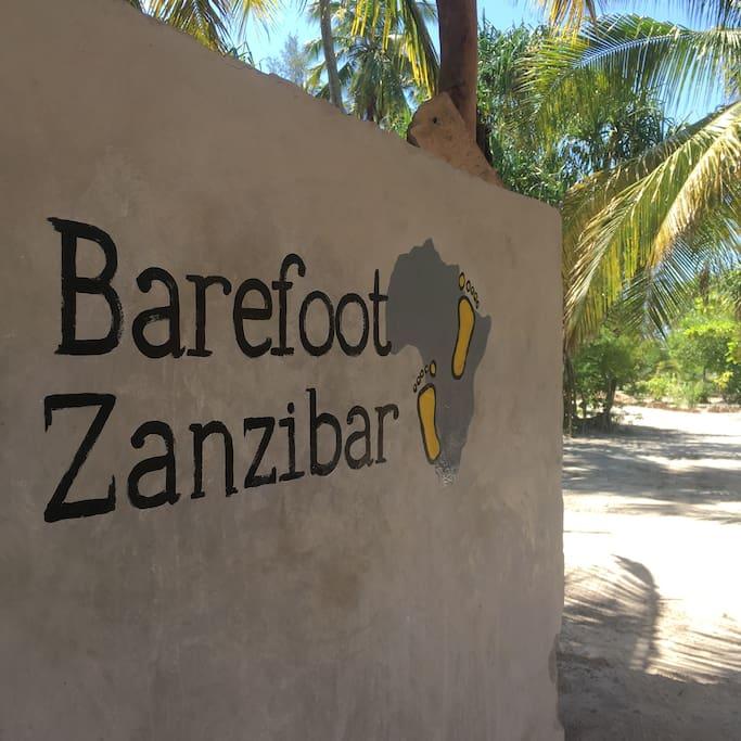 Logo Barefoot Zanzibar