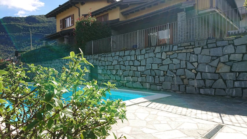 Casa Elisa with wellness area, pool and nice view