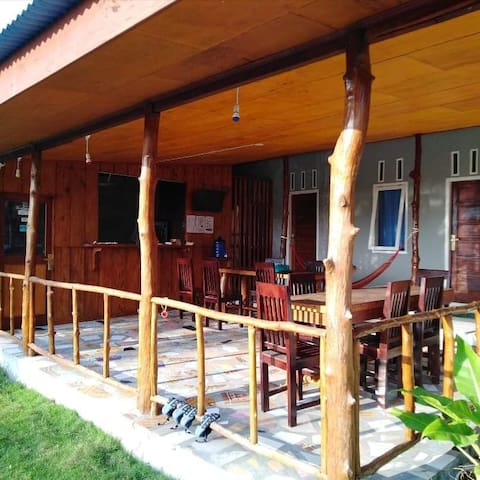 Arthur Homestay Telescope Mentawai-Private Room 2