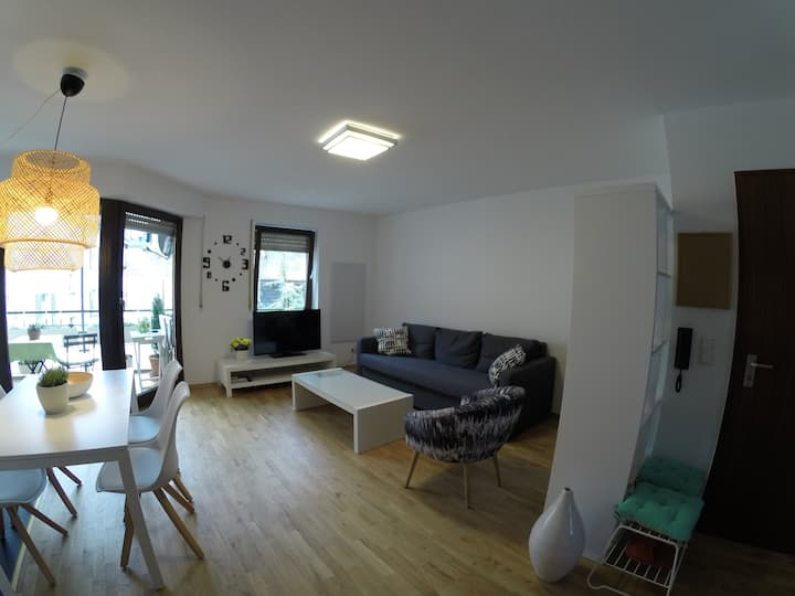 Nice Apartment at Festspielhaus with free parking