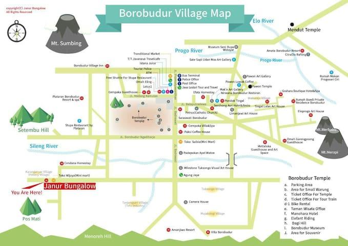 Janur Bungalow-Standard2 - Borobudur - Penzion (B&B)