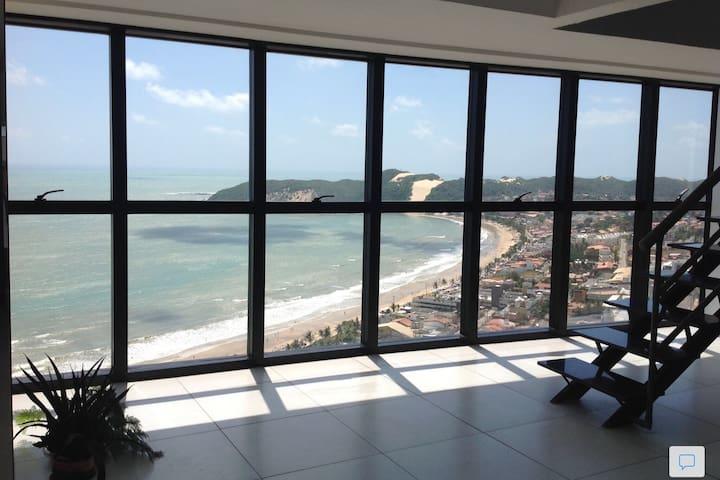 Penthouse 2 Floors All-Windows Penthouse - Natal - Loft