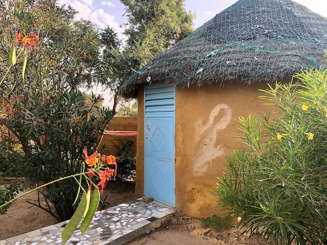 Campement éco-solidaire. Hébergement rural