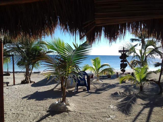 Private Beach Eco House (LUNAZUL)