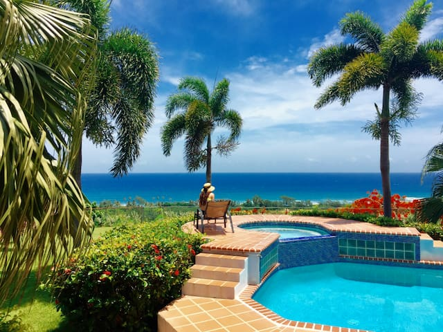 Aguadilla House w Gazebo, Panoramic view,Pool&Wifi - Aguadilla - Casa