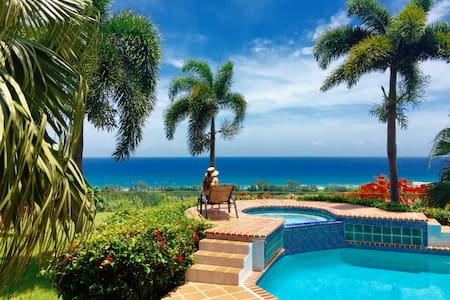 Aguadilla House w Gazebo, Panoramic view,Pool&Wifi - Aguadilla