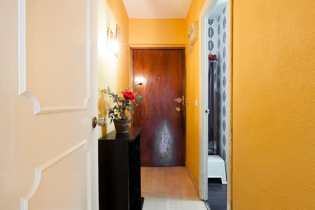 Entrada al apartamento