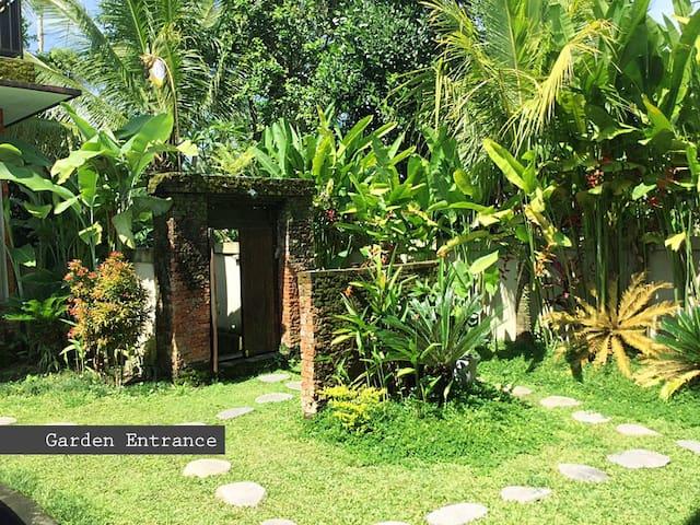 2BR Traditinal Garuda Place Tropical Private Villa - Tegallalang - Casa