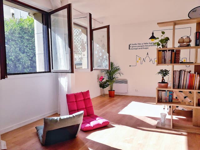 Lovely Studio near Paris, 15 mins to city center