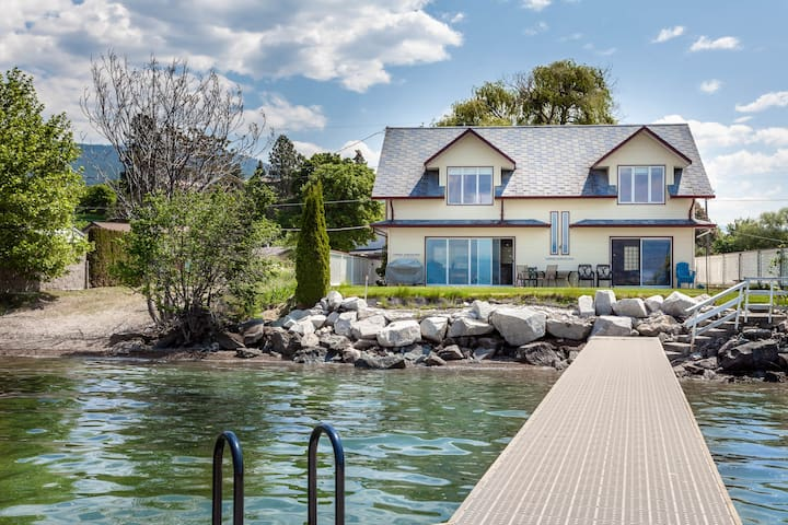 Pier Cottage - Naramata Private Waterfront w/ Dock
