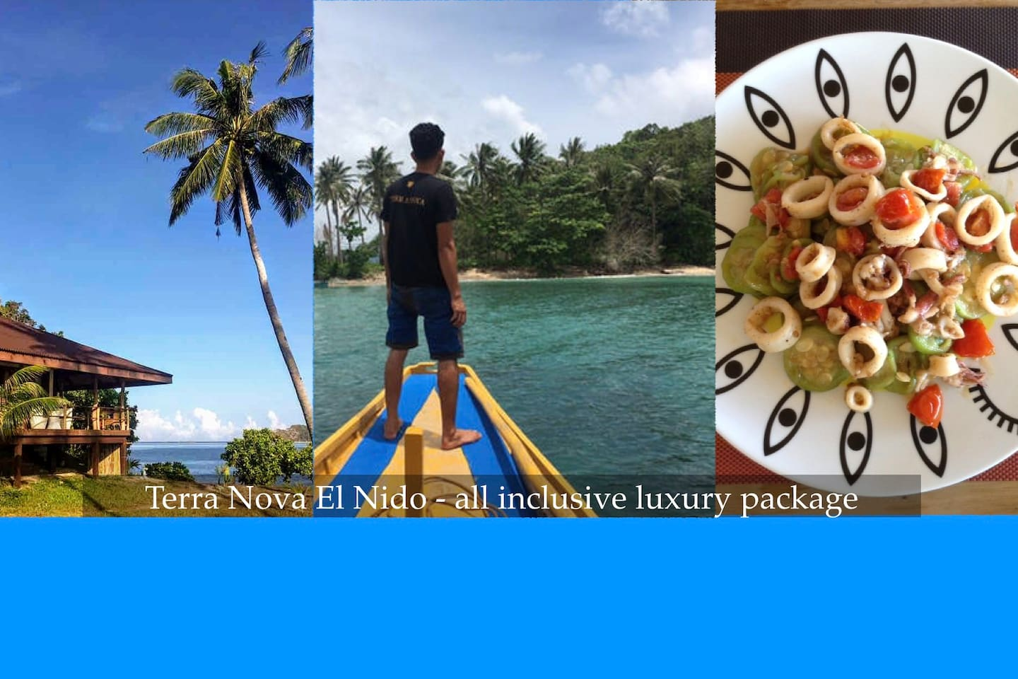 Terra Nova - El Nido Private Beachfront Villa #2 with All Inclusive Luxury Package