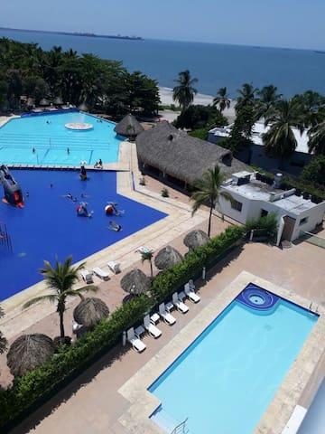 Apartamento  en Santa Marta - RESORT COSTA AZUL
